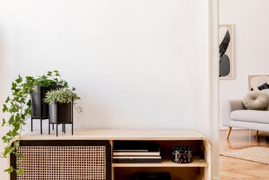 Aménager un coin bureau dans un petit salon