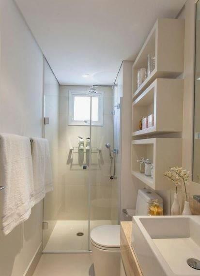 Petite salle de bain tendance