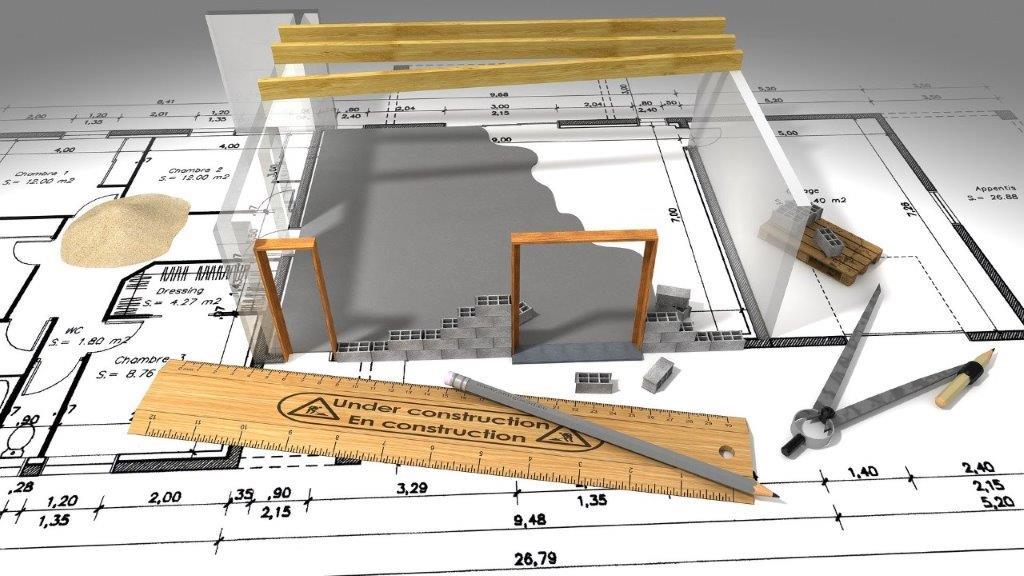 Rénovation étude plans 3D